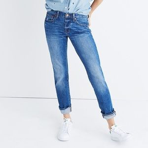 Madewell the slim boyjean boyfriend jeans